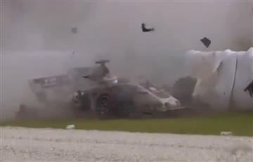 F1: Piloto sufre aterrador accidente durante ensayos del GP de Malasia