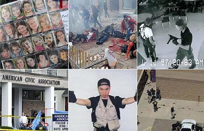 EEUU: Los tiroteos mortales más recordados de las últimas décadas
