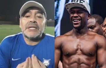 Maradona contra Mayweather: