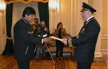 Evo Morales recibió con orgullo a estos nuevos embajadores