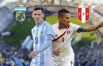 Argentina vs. Perú: Transmisión TV y Online