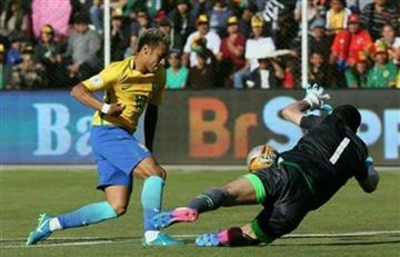 Neymar le entregó este emotivo regalo a Carlos Lampe