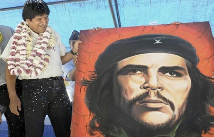 Evo Morales dormirá en carpa y 'sleeping' en conmemoración al Che