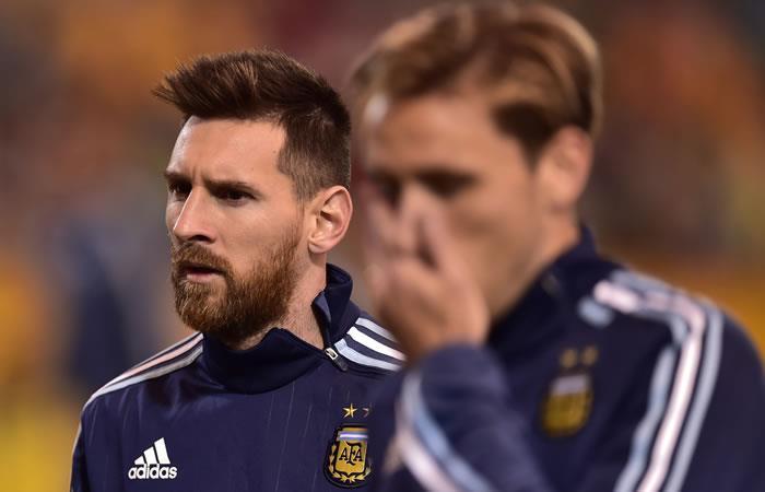 Messi y Argentina espera la clasificación. Foto. AFP