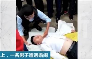En China un hombre quedó en coma tras esta terrible broma