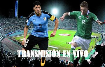 Uruguay vs Bolivia: Transmisión EN VIVO online