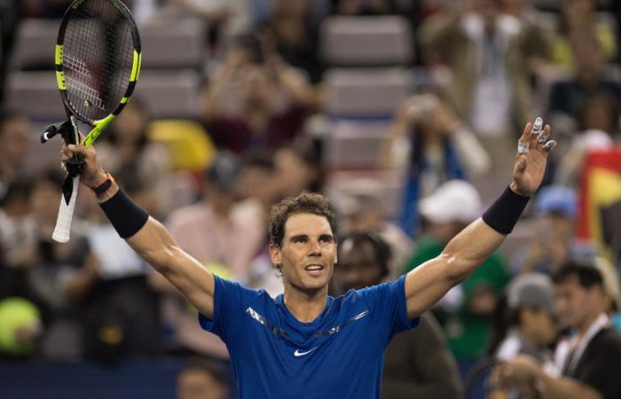 Rafael Nadal debuta y gana en Shanghái contra Donaldson