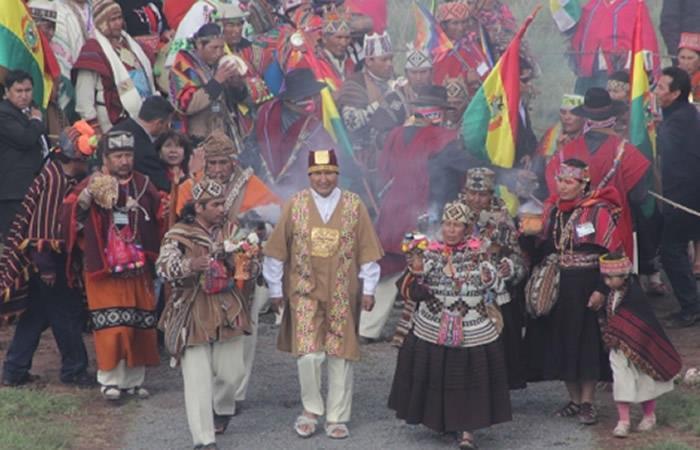 Bolivia celebra así el Día de la Descolonización