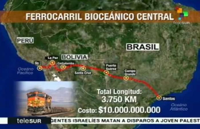 ¿Inglaterra quiere sumarse al proyecto del tren bioceánico en Bolivia?