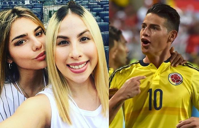 James Rodríguez recibe hermosos mensajes de sus hermanas tras clasificar al Mundial