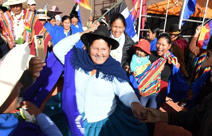 La ONU envió un conmovedor mensaje a la mujer boliviana