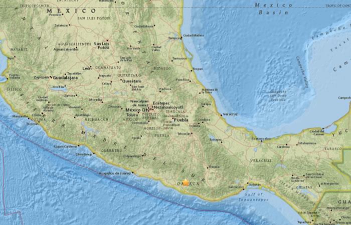 Vuelve a temblar en México, sismo de magnitud 5,1 en Oaxaca