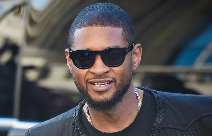 Usher Foto: Tomada de Twitter