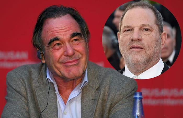 Oliver Stone: Weinstein es víctima de