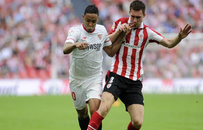 Sevilla pierde contra el Athletic Club con Muriel en los últimos minutos