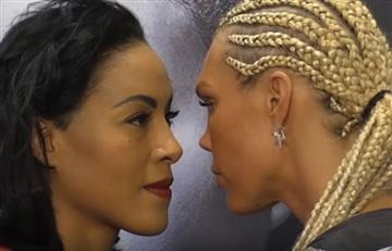 Video: El beso entre dos boxeadoras que terminó con cachetada