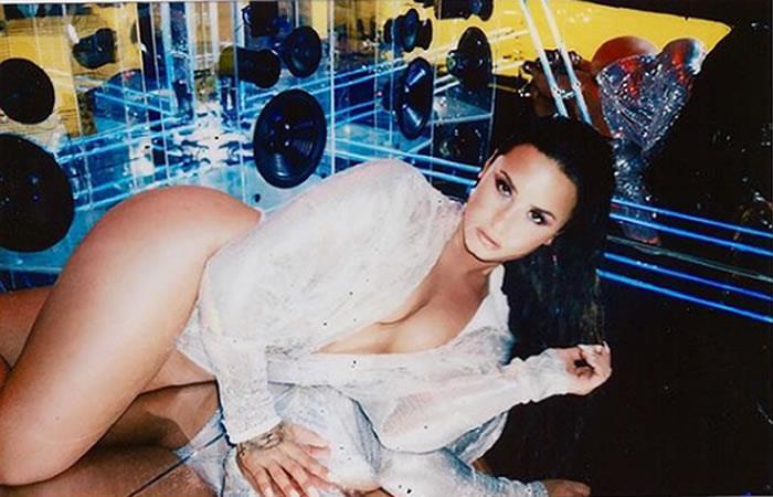 Demi Lovato y la impactante foto de su trastorno alimenticio
