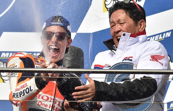 Márquez gana el GP de Australia y asesta un golpe casi definitivo al Mundial