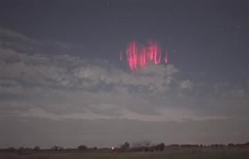 Extraño fenómeno espacial ilumina el cielo de Estados Unidos