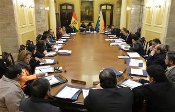 Evo Morales convocó a gabinete ampliado extraordinario en La Paz