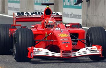 Subastarán monoplaza en el que Schumacher ganó su segundo Mundial con Ferrari