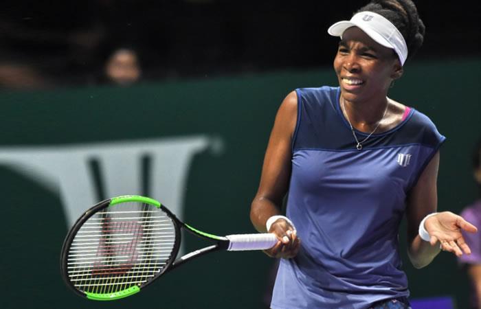 Venus Williams derrota y elimina a Garbiñe Muguruza del Masters