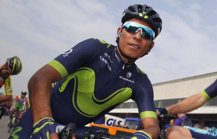 Nairo Quintana descontento con la llegada de Mikel Landa al Movistar