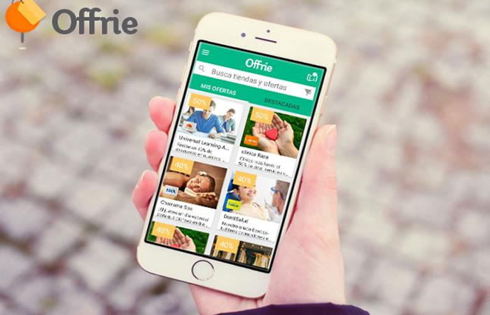 Offrie, la aplicación que permite acceder a miles de ofertas