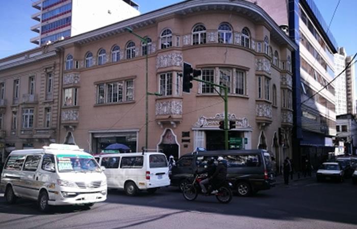 Edificio Banco Unión. Foto: ABI