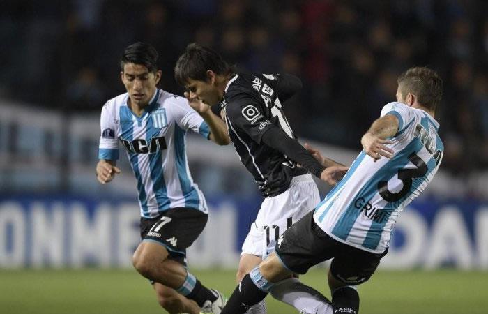 Copa Sudamericana: Racing a dar vuelta al marcador contra Libertad