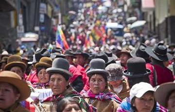 Así ha crecido el número de habitantes en Bolivia