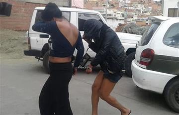 La Paz: Aprehenden a dos 'travestis' por golpear a un taxista