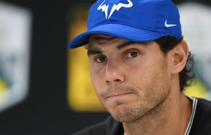 Rafael Nadal se retira del Masters de París por lesión