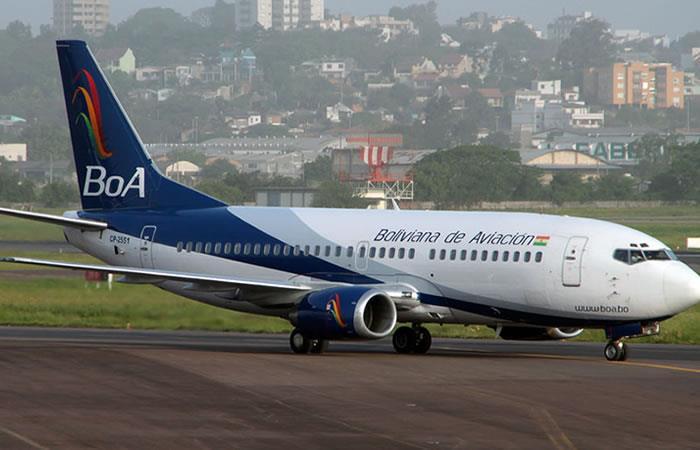 En Bolivia, el número de vuelos subió de 30 a más de 120 por día