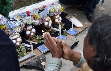 En Bolivia se celebra así la 'Fiesta de la Ñatitas'