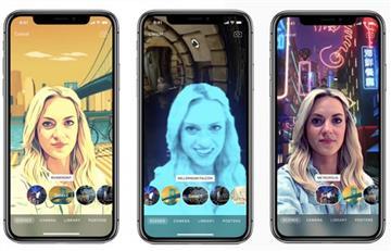 'Escenas de Selfie', la nueva función de Realidad Aumentada para usuarios de iPhone X