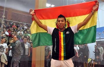 Juegos Bolivarianos: Conrado Moscoso, la carta bajo la manga de Bolivia