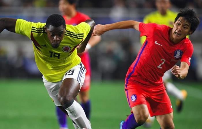 Colombia cayó ante Corea del Sur en fogueo para Rusia 2018