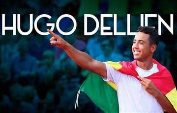 Hugo Dellien será el abanderado de Bolivia en los Bolivarianos