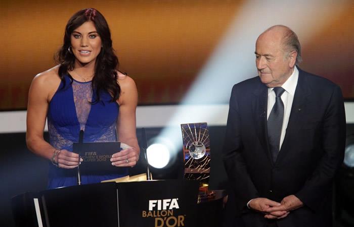 Hope Solo acusa a Joseph Blatter por acoso sexual