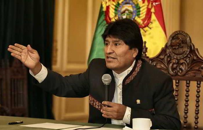 Morales saluda respaldo de Iglesias a la demanda marítima boliviana