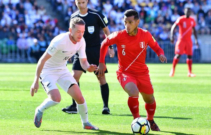 Nueva Zelanda vs. Perú. Foto: AFP