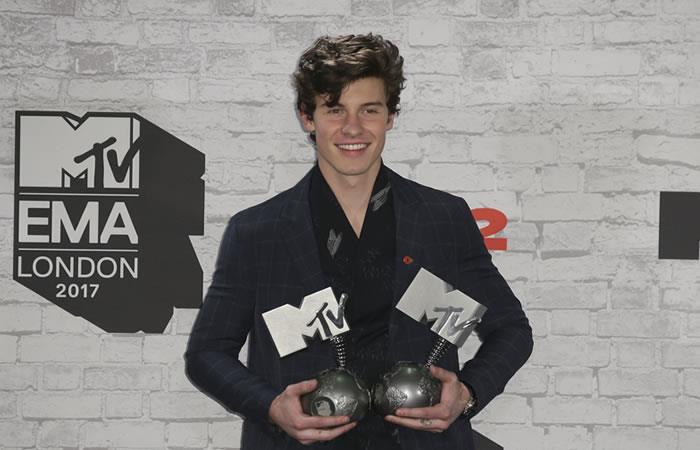 MTV EMA: Shawn Mendes, el gran ganador