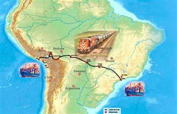 Bolivia confirma adhesión de Suiza al proyecto del tren bioceánico