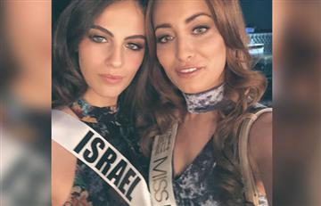 La polémica foto de Miss Irak y Miss Israel que causa revuelo en redes