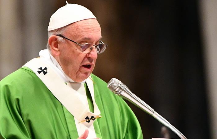 Papa Francisco pide a las personas que luchen contra 'la indiferencia'
