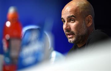 'Pep' Guardiola no se ve favorito a la Champions con el Manchester City
