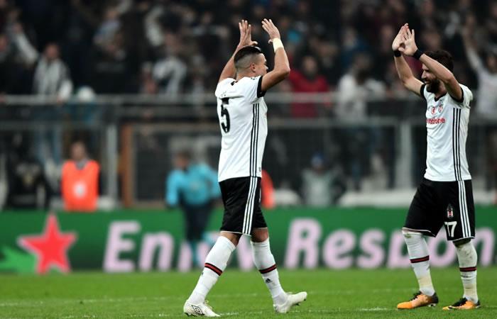 Champions League: Besiktas selló su clasificación a octavos de final