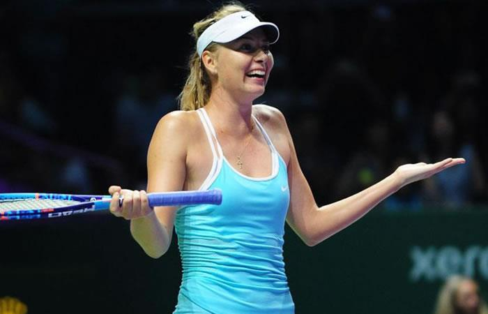 Sharapova. Foto: AFP