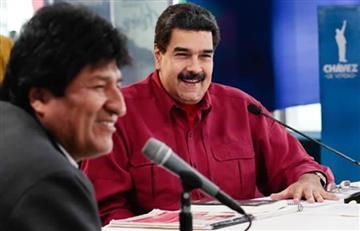Evo Morales felicita a Maduro por su cumpleaños y envía este conmovedor mensaje